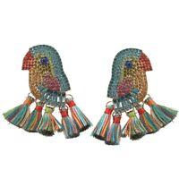 1X(Statement Ohrringe Bohemieen Handgemachter Tropfen Ohrringe für Frauen ME8K3)