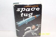 Space Tug Murray Leinster USA 1953 Signed author & editor hardcover W/jacket