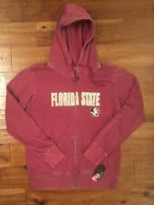 NWT Womens Colossuem Florida State Seminoles, Maroon Zippered Jacket, XL