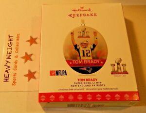 Tom Brady Hallmark Keepsake Collectible Ornament Super Bowl LI MVP  N E Patriots