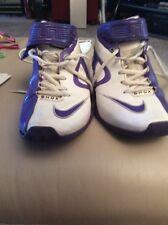 Nike Shox US 8.5 Women's Purple White Basketball Shoes