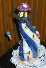 LIGHTHOUSE  ELECTRIC LIGHT APPROX. 30CM HIGH X 14 CM WIDE