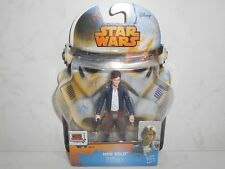 "Star Wars Rebels SL24 Han Solo 3.75"" Action Figure Disney Hasbro 2014 B0686"
