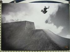 VOLCOM surf skateboard 2008 Aaron Suski B&W Promo Poster Mint Cond New Old Stock