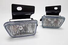 VW Jetta MK2 Crystal Clear Fog Lights Lamps Set Pair Driver Passenger