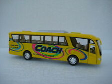 Coach Bus Yellow Diecast Model Toy Car