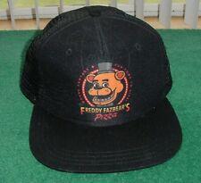 Five Nights At Freddy's FNAF Snapback Hat Fazbear's Pizza Cap Youth Pepperoni