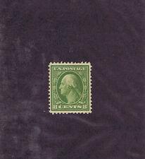 Scott# 337 Unused Og Nh 8 Cent Washington, 1908, Vf-Xf, Pf Cert, Look.
