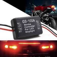 12V-24V GS-100A Flash Strobe Controller Flasher Module For LED Brake Spot Light