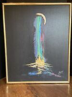 ASHTON III ARTIST SIGNED OIL PAINTING  IMPRESSIONISM