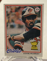 1978 Topps Eddie Murray Baltimore Orioles #36 Baseball Card Rookie
