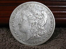 1892-S MORGAN DOLLAR-DECENT SPECIMAN-FREE SHIP..