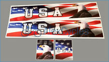 1/14 Tamiya 14th Scale Truck Reefer Box Trailer USA US Decals Stickers + FREGIFT