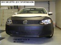 Lebra Front End Mask Cover Bra Fits VW Jetta 2011-2014 Exc. Sportwagen & Gli mod