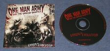 2007 METAL ~ ONE MAN ARMY ~ Error in Evolution ~ RARE PROMO ~ PROMOTIONAL CD