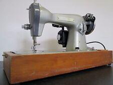 Vintage costurera puntada recta cuero pesado deber Bordado de máquina de coser