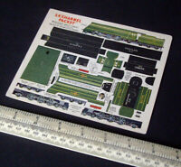 1947 Vintage Original Modelcraft Micromodels SR Channel Packet Locomotive