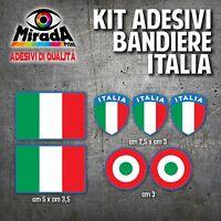 KIT Adesivi Stickers PAGATINA AUTOCOLLANT BANDIERA ITALIA TRICOLORE BLU NEW