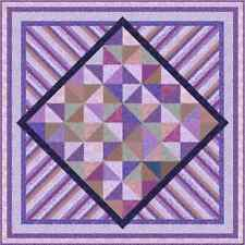 """Ultra Violet - 74"""" x 74"""" - Pre-cut Quilt Kit by Quilt-Addicts Double size"""