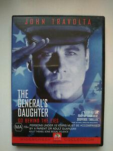 The General's Daughter (DVD, 2002) John Travolta LIKE NEW