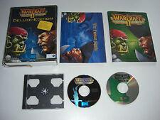 WARCRAFT II Tides Of Darkness DELUXE EDITION Pc War Craft 2 Original BIG BOX