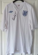 Wayne Rooney Signed England Football Shirt Unframed AFTAL RD#175
