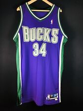Game Jersey Ray Allen BUCKS NBA Trikot Basketball Jersey Pro Cut Worn Jordan
