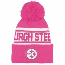 Pittsburgh Steelers Beanie NFL Youth (8-20) Kids Pom Cuff Knit Hat