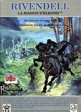 RIVENDELL LA MAISON D'ELROND VF! French Version MERP ICE Tolkien Game Module