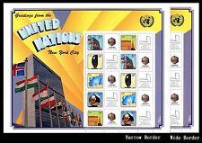 United Nations UN Personalized Sheet S31 Napex Version 2 Narrow & Wide Border