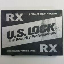 Us Lock Rx System Pinning Kit 2370 Rx With Key Gauge 10 Keys Proprietary
