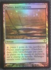Plaines marécageuses PREMIUM / FOIL VF - French Marsh flats - Magic mtg -
