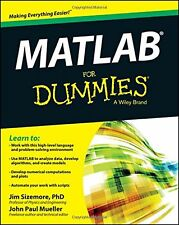 Matlab for Dummies NEW BOOK