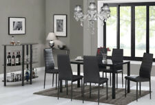 oak table chair sets with 7 pieces and 6 seats for sale ebay rh ebay co uk
