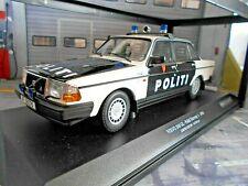 VOLVO 240GL 240 GL Limousine Politi Norway 2 Police Polizei 1986 Minichamps 1:18