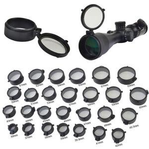 Telescopic Rifle Scope Flip Up Quick Spring Lens Protect Cover Scope Lens Cap