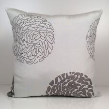 Grayish Off White and Gray  Throw Pillow Cover, Decorative Pillow Cover