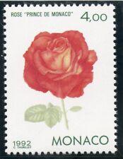 TIMBRE DE MONACO N° 1840 ** FLORE / EXPOSITION A GENES / ROSE PRINCE DE MONACO