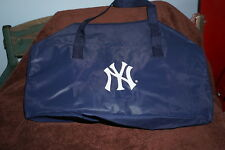 New York Yankees Promotional WABC Talk Radio 77 AM Vinyl Gym Duffel Bag
