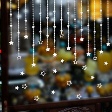 Removable Merry Christmas Star Wall Sticker Decal Mural Home Window Xmas Decor