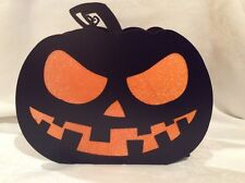 Silhouettes Yankee Candle LG Metal JACK O LANTERN 4 tea light Halloween Pumpkin