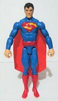 """2016 DC Comics Justice League SUPERMAN Poseable 12"""" Action Figure Mattel"""