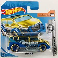 Hot Wheels SpeedBox Super Chromes 3/5 Mattel