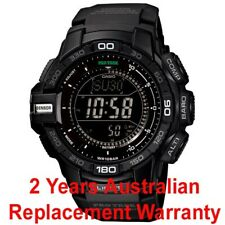 CASIO PROTREK TRIPLE SENSOR MEN WATCH PRG270-1A BLACK PRG-270-1ADR 2Y WARRANTY