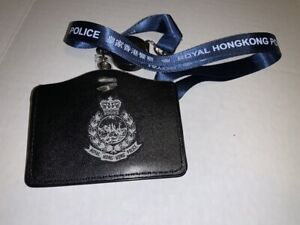 Neckstrap #2C - R. H. K. P. Neckstrap & horizontal cardholder w/badge