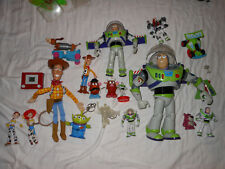 Toy Story Figure lot Buzz Lightyear Revoltech + 12 inch Woody and more!