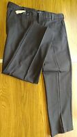 MENS PANTS-IZOD AMERICAN CHINO NAVY-100%COTTON-FLAT FRONT-W40 L32-NEW W/TAGS