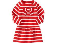 GYMBOREE Red Striped Dress  NWT  Size 12-18  MONTHS
