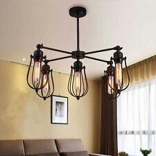 Modern Ceiling Lights Black Chandelier Kitchen Metal Pendant light Bar LED Lamp