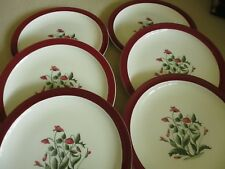 Wedgwood Mayfield  10 inch Dinner plates x 6